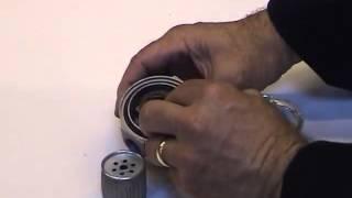 Очистка проходного топливного фильтра Master BV 170E