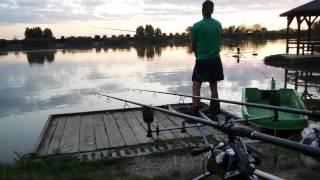 Pecanje na jezeru Laguna