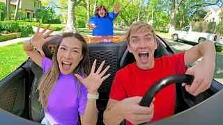 We Stole Ellen Mystery Neighbor's Lamborghini!!