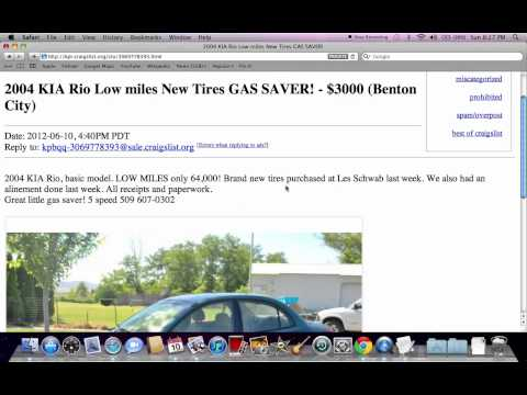 Craigslist Kennewick WA Used Cars and Trucks - For Sale by Owner Options in Mid 2012