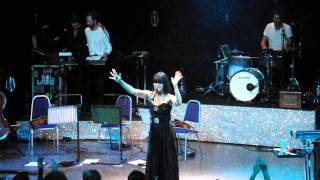 """Bat for Lashes """"Rest your head"""" at O2 Shepherd's Bush Empire London 13.08.13"""
