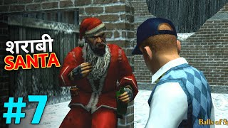 I Met Mad Drunker Santa! | Bully Anniversary Edition Gameplay #7