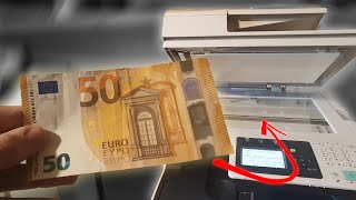 What happens if you photocopy money [interesting]