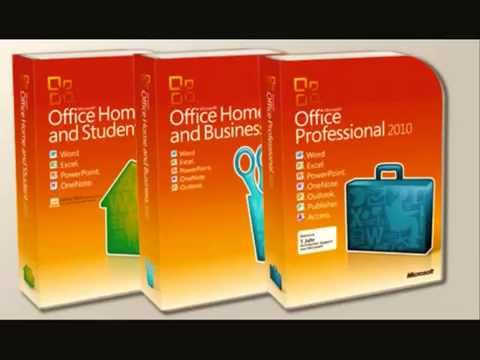 Microsoft Office 2010 Professional Plus / Home and business /  Home and student Keys 2015