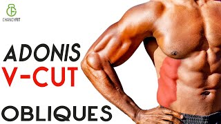 INTENSE V CUT OBLIQUES AND WAISTLINE ABS WORKOUT NO EQUIPMENT NEEDED