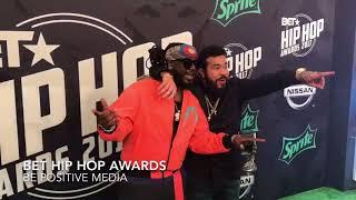 2017 BET Hip Hop Awards Red Carpet-Be Positive Media