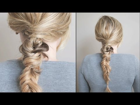 Textured and Twisted Fishtail Braid Tutorial: The Small Things