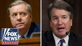 Graham slams Democrats, vigorously defends Kavanaugh