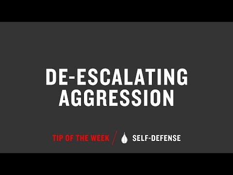 De Escalating Aggression