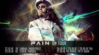 PAIN - Black Knight Satellite (OFFICIAL LYRIC VIDEO)
