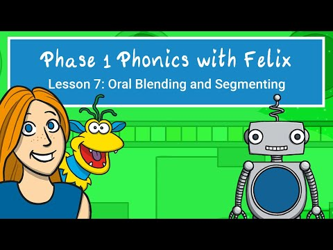 Phase 1 Phonics with Maddison and Felix - Oral Blending