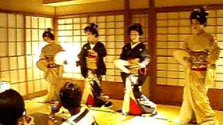 Japanese Geisha Dance