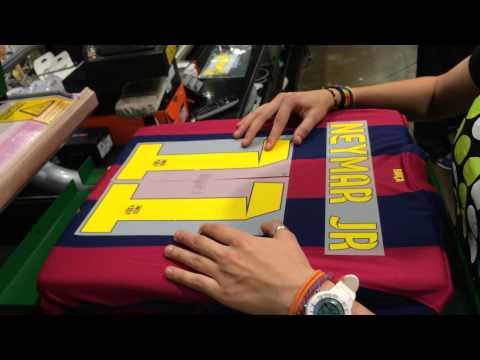 Nhật Long & Neymar JR Shirt - direct by Barca Shop