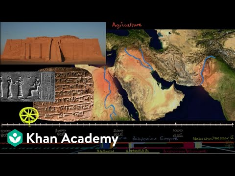 Ancient Mesopotamia (video) | Khan Academy