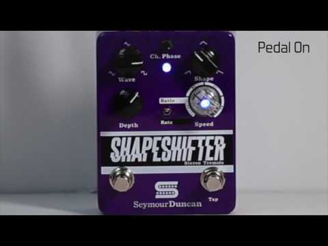 Duncan Video Shorts - Shapeshifter Tremolo Pedal, Rock