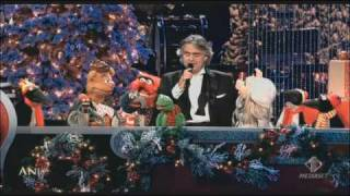 Andrea Bocelli With the MUPPETS - Jingle Bells Kodak theatre Los Angeles 2009