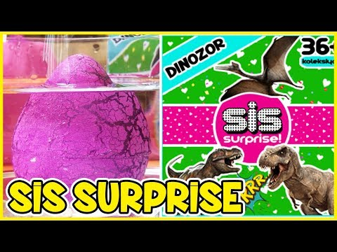 Sis Surprise Oyuncak Yeni Seri Sis Dinozor 1 Dila Kent