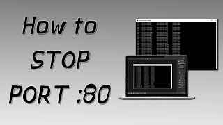How To STOP/DISABLE PORT 80