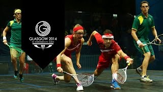 preview picture of video 'Squash - Day 11 Highlights Part 8 | Glasgow 2014'