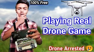 Playing The Drone Game ????️ Best drone game for Android || dji phantom 4 pro & dji mavic lovers dron