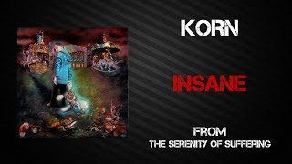 Korn   Insane [Lyrics Video]