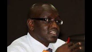 Thirdway Alliance flag bearer Ekuru Aukot questions the printing of ballot papers in Dubai