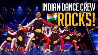 X1X Indian Dance Crew Are The V. Unbeatable of Britain's Got Talent!