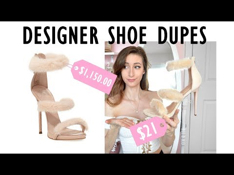 DESIGNER SHOE DUPES  ♥ FSJ Custom Heels