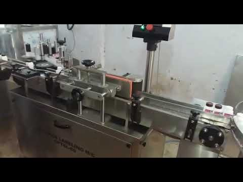 Square Bottle Labelling Machine