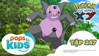 Pokémon Tập 247 - Trận Quyết Đấu Vùng Hoang Dã! - Hoạt Hình Tiếng Việt Pokémon S18 XY