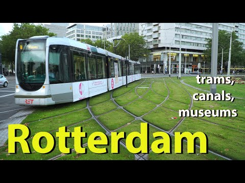 Trams Are the Stars of This Beautiful Dutch City