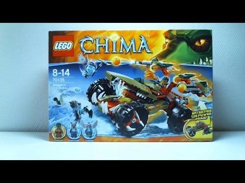 Vidéo LEGO Chima 70135 : Le Croc' tireur de feu