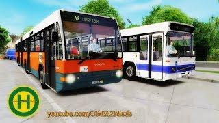 OMSI 2 • MAN LION'S CLASSIC SL2XX & SG313 - hmong video