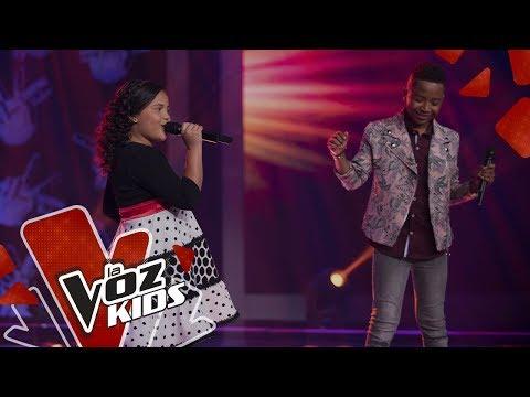 Carlos Mario y Anabelle cantan Piel Canela | Cepeda Sus Amigos | La Voz Kids Colombia 2019