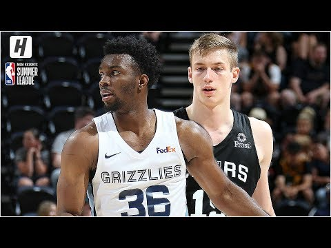 San Antonio Spurs vs Memphis Grizzlies Full Game Highlights | July 2, 2019 NBA Summer League