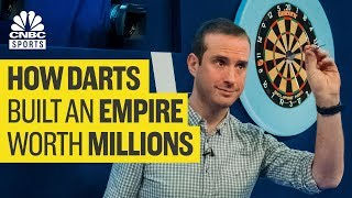 How darts moved from the pub to the world stage | CNBC Sports