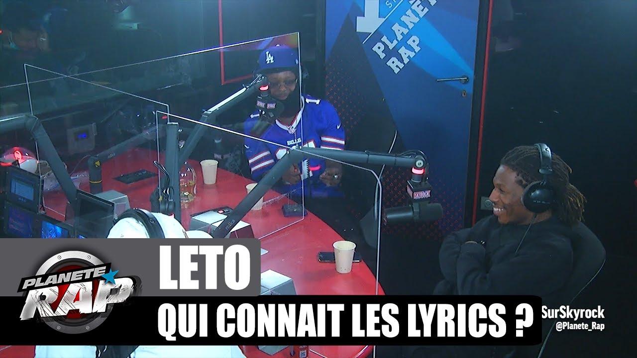 Leto - Qui connaît les lyrics ? avec Cheu-B & Kepler ! #PlanèteRap