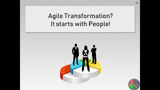 Agile Transformation starts with People.