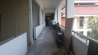 Pembongkaran Gedung Pemda DPRD Binong Bogor