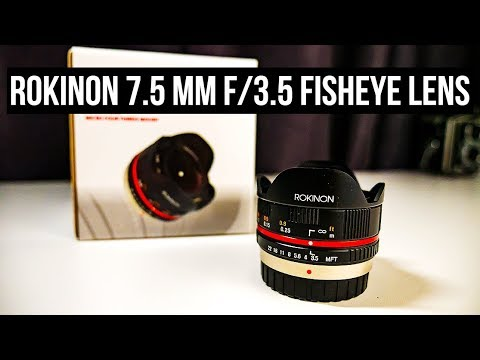 ROKINON 7.5MM F/3.5 #FISHEYE LENS REVIEW