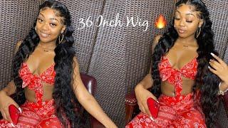 36 Inch Wig Ft. Alipearl Hair 🔥   Baby Hair Tutorial 😍 