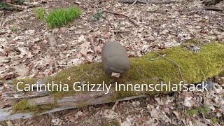 Carinthia Grizzly Innenschlafsack - Mein Fazit.