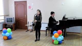 Б. Фиготин Звучит танго - Екатерина Фатеева, саксофон-тенор