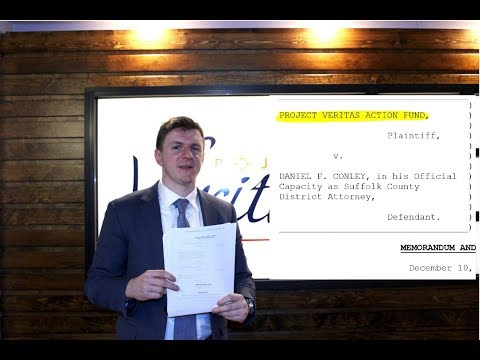 Veritas Suit Makes First Amendment HISTORY: Changes MA. Recording Law