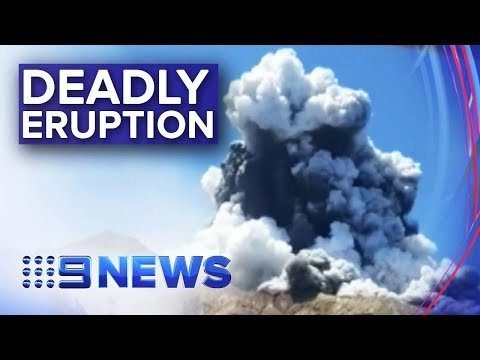 Death toll expected to rise from NZ volcano eruption   Nine News Australia