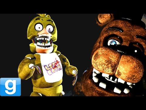 Garrys Mod Walkthrough - OLD FREDDY IS CREEPY! - Gmod Five