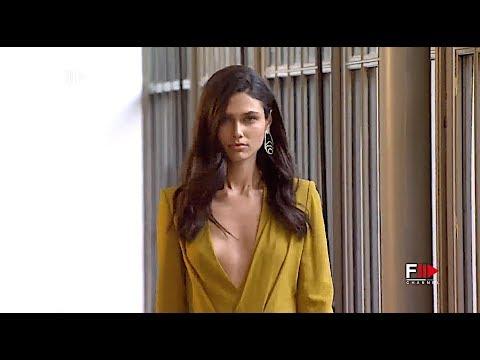 ANGEL SCHLESSER Highlights MBFW Spring Summer 2019 Madrid - Fashion Channel