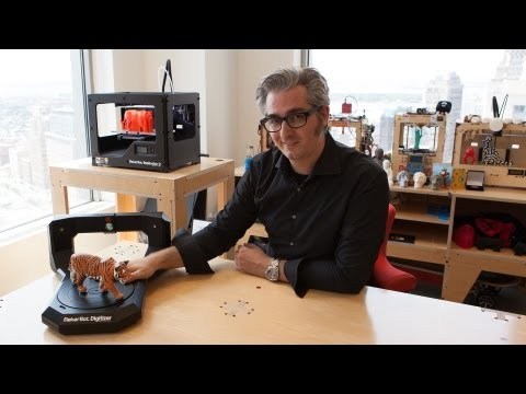 Digitizer : le scanner 3D de Makerbot