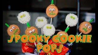 HALLOWEEN SPOOKY COOKIE OREO POPS – I NEED SOME MO