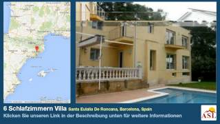 preview picture of video '6 Schlafzimmern Villa zu verkaufen in Santa Eulalia De Roncana, Barcelona, Spain'